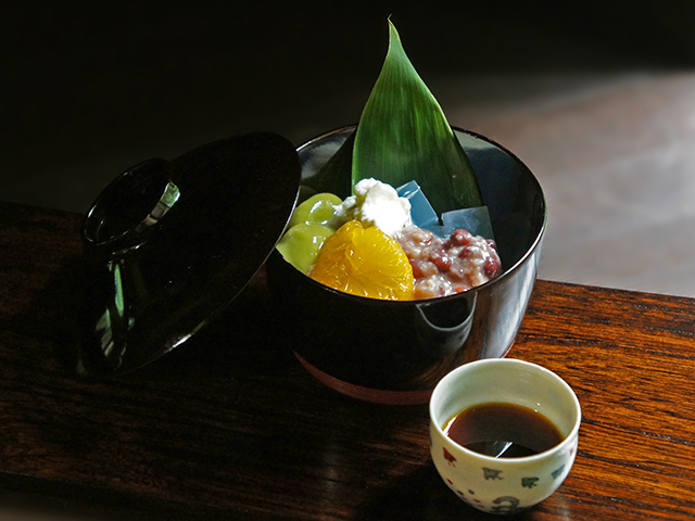 CAFE HAYASHI 発酵あんこの白玉あんみつーツメニュー