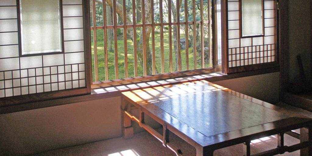 CAFE HAYASHI 前庭(苔庭)を眺める個室