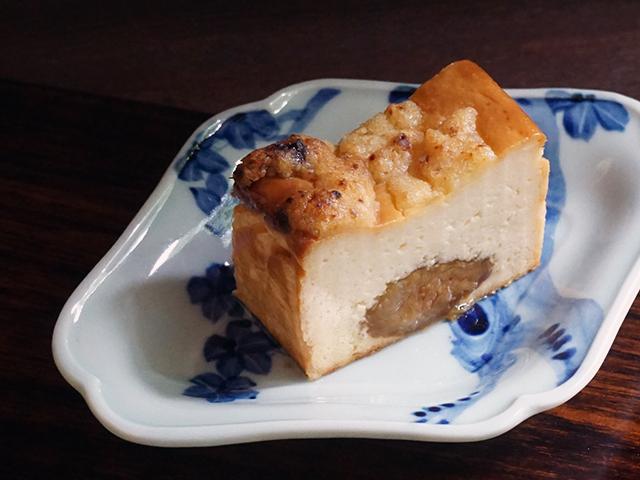 CAFE HAYASHI イチジクとチーズのケーキ